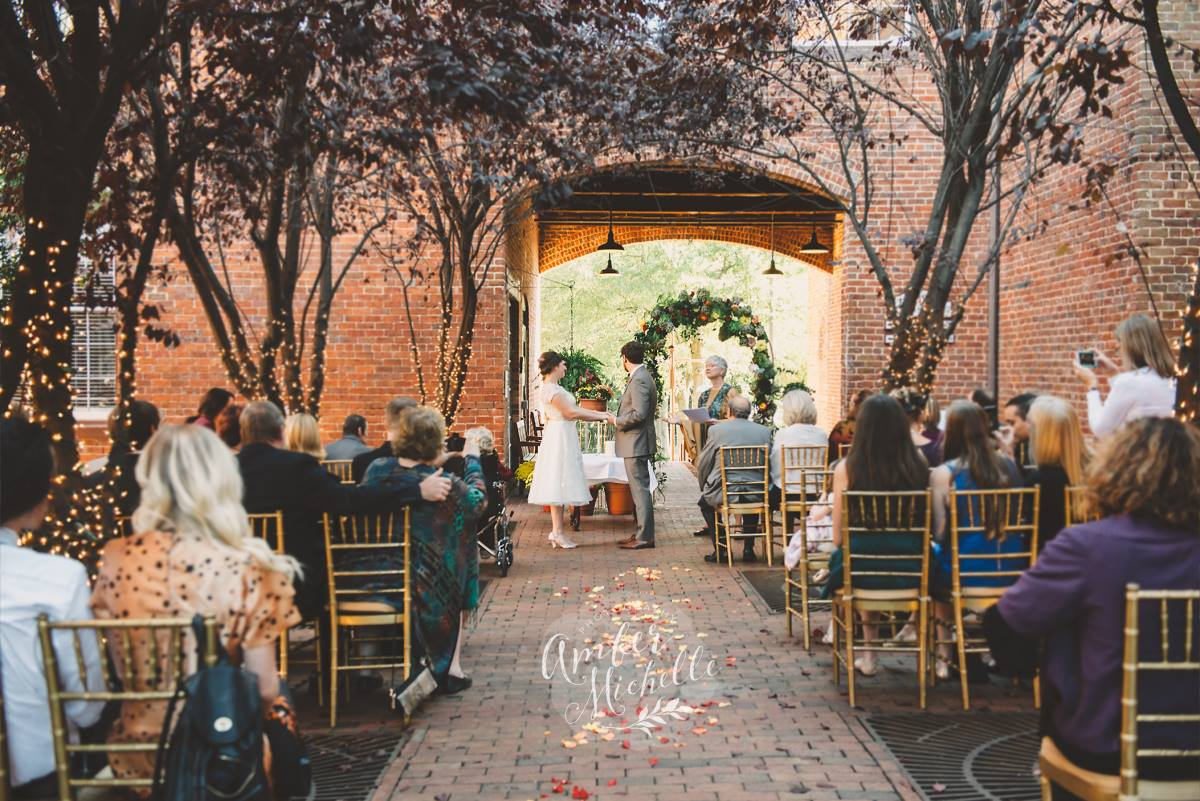 wedding-in-courtyard
